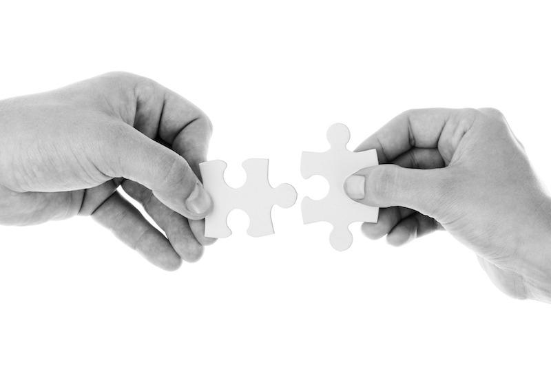 De sätt som vi kopplas samman